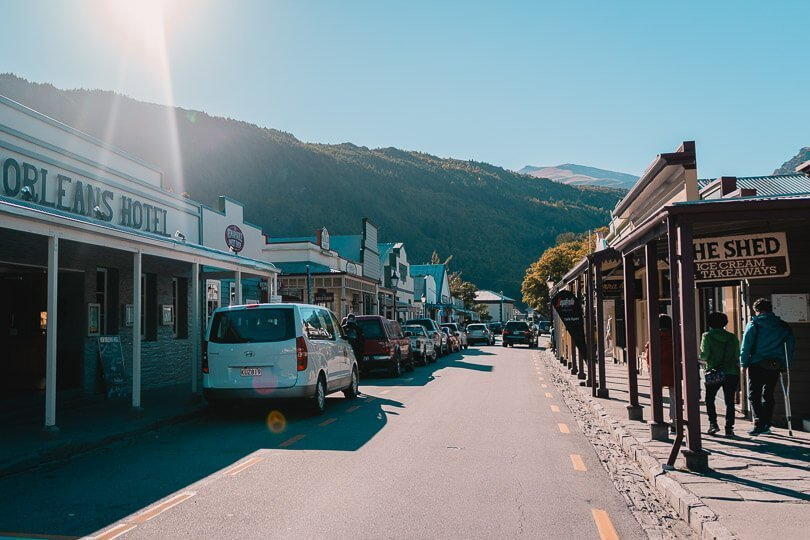 Restaurants in arrowtown