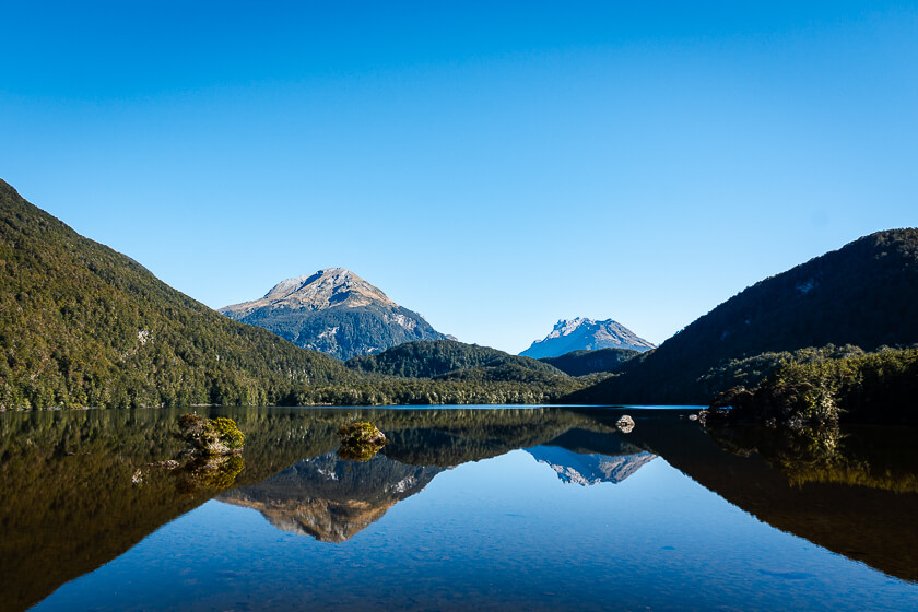 Lake Sylvan Track Glenorchy Mirror View