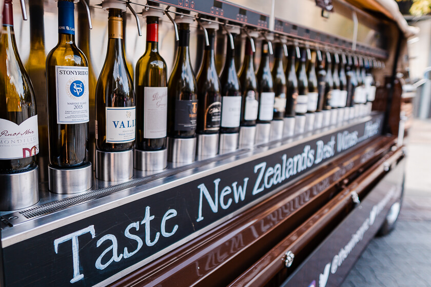 NZ Wine in Queenstown Central Otago