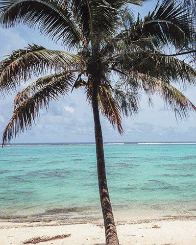 Tikioki Marine Reserve Beach Rarotonga